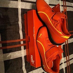 Puma Drift Cat 6 rosso corsa shoes. Size 12. BNWT